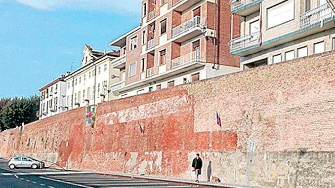 Lo storico bastione di piazza 1275 sarà restaurato e messo in sicurezza