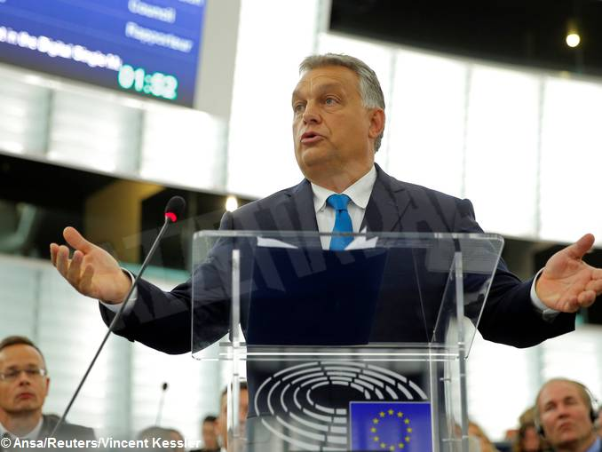 editoriale sciortino_strasburgo_reuters_orban