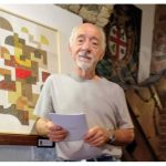 In San Domenico l'astratto geometrico  e colorato  di Gianni Pennisi