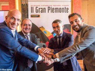 Il Gran Piemonte di ciclismo partirà da Racconigi