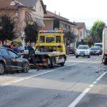 Incidente frontale il corso Cortemilia: disagi per il traffico