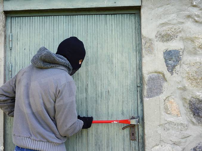 ladro furto scasso