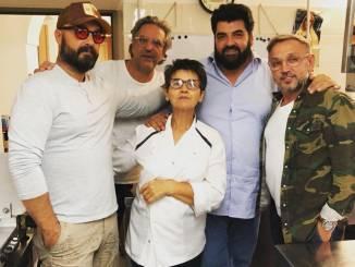 """I giudici di Masterchef a cena a """"Il Centro"""" di Priocca"""