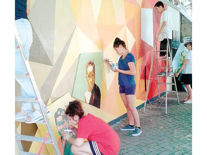 murales cristo re