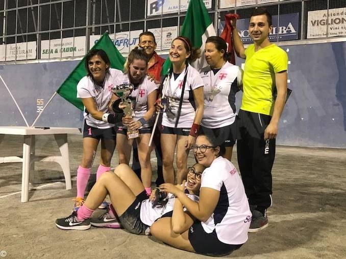Pallapugno: la Gymnasium Albese è ampione d'Italia nel femminile