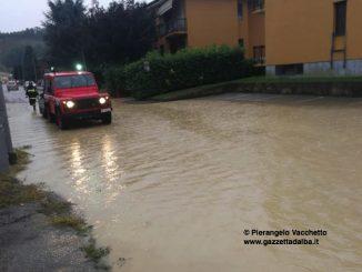 Sottopassi e garages allagati a San Cassiano e in corso Europa 2