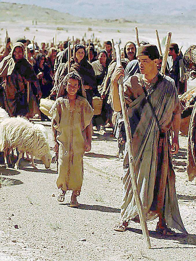 popolo israele deserto