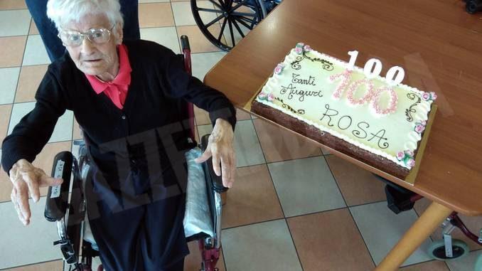 Montà ha salutato la centenaria Rosa Barbero