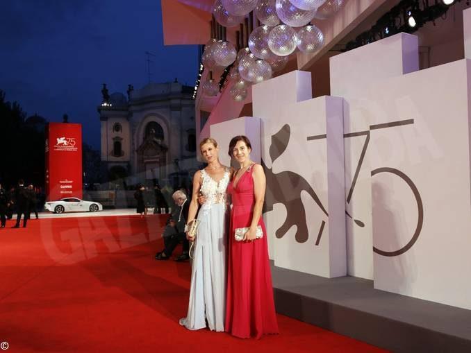 La stilista montatese Silvia Visca al Festival del cinema di Venezia
