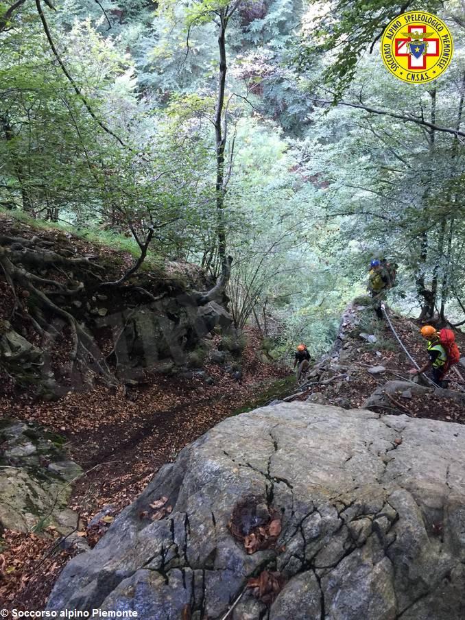 soccorso alpino cercatore funghi