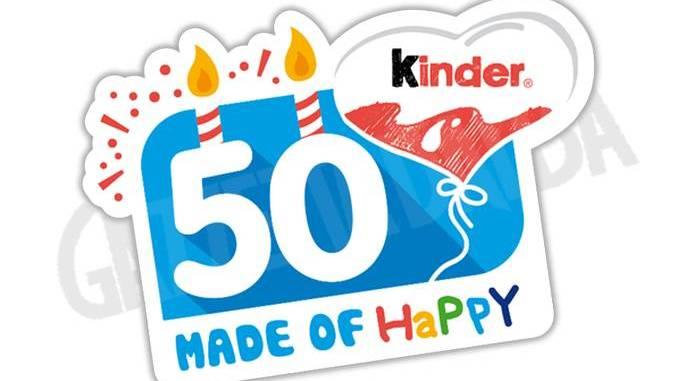 Grande festa per i 50 anni della Kinder