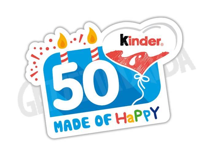 50 ANNI LOGO kinder