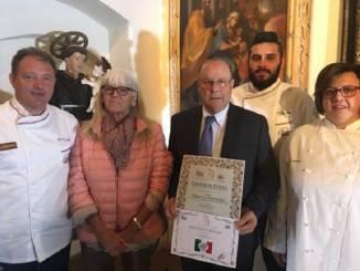 Franco Biraghi premiato per il Bra duro Valgrana