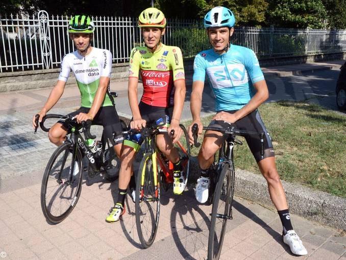 Diego Rosa e Matteo Sobrero in gara nelle classiche d'autunno