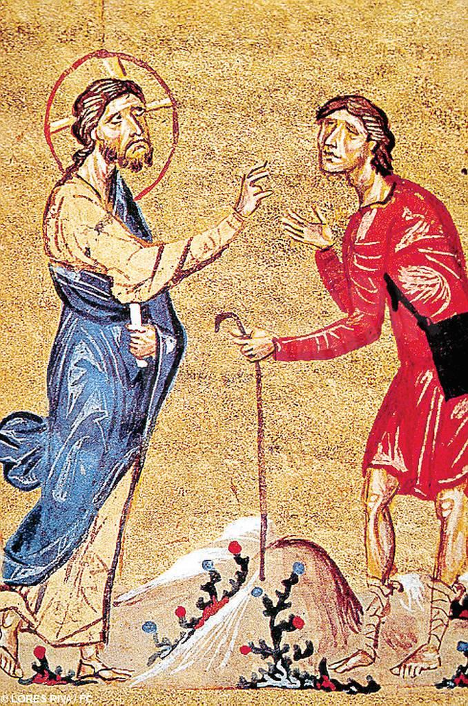 Gesù guarisce Bartimeo