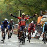 Colbrelli vince il Gran Piemonte. Sobrero a lungo in fuga, bene Diego Rosa