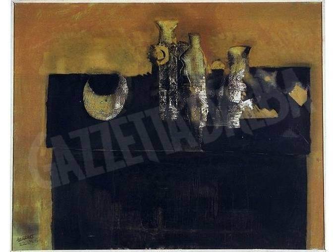 Mario Lattes – Cassettone – 1966 – in mostra a Monforte-bd