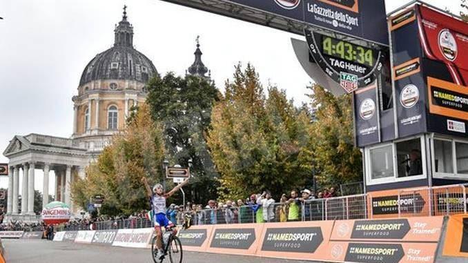 Ciclismo: Pinot vince a Superga. Oggi, Gran Piemonte a Raccconigi
