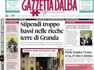 La copertina di Gazzetta in edicola martedì 2 ottobre