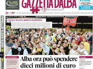 La copertina di Gazzetta in edicola martedì 9 ottobre