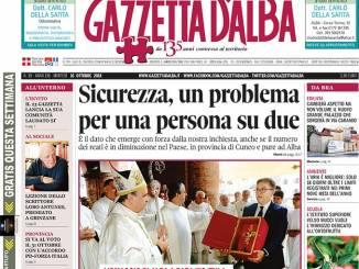 La copertina di Gazzetta in edicola martedì 16 ottobre