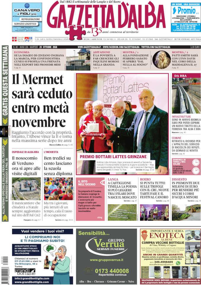 Prima_pagina_Gazzetta_dAlba_n_40_2018