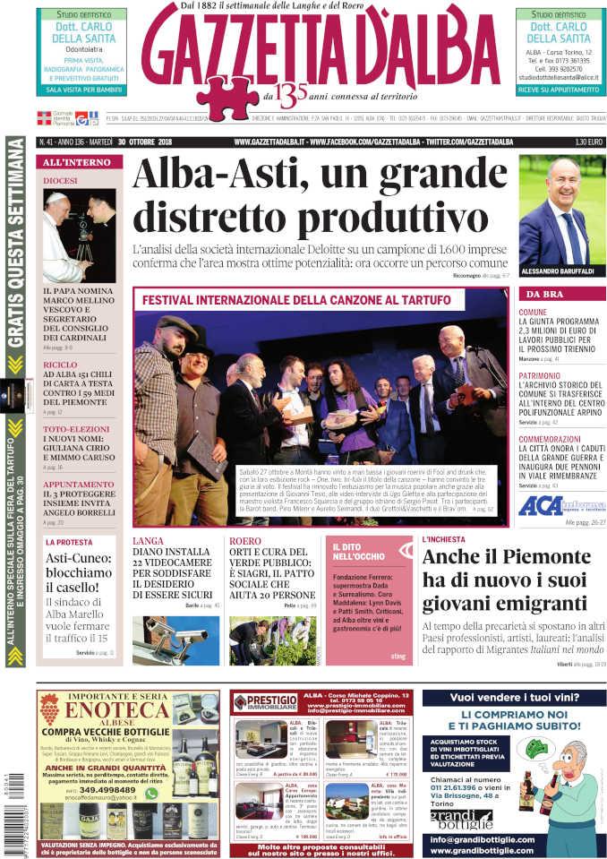 Prima_pagina_Gazzetta_dAlba_n_41_2018