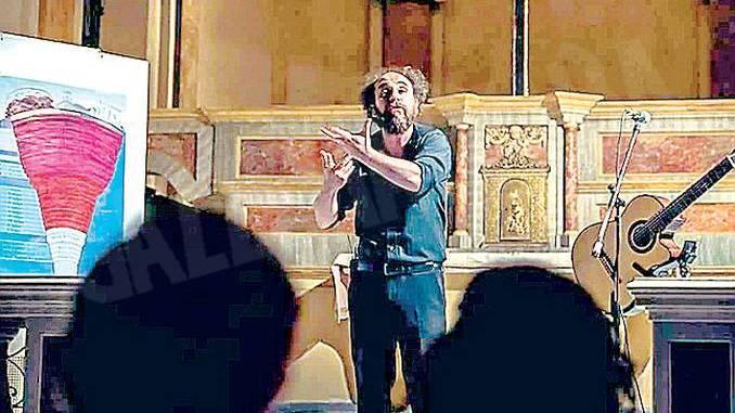 A Montà Saulo Lucci recita il Purgatorio di Dante