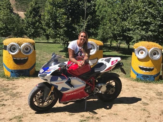 Sonia Dogliotti vittima di un incidente motociclistico nel sud della Francia