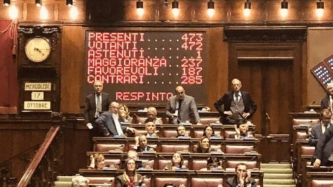 La Camera respinge le dimissioni di Guido Crosetto