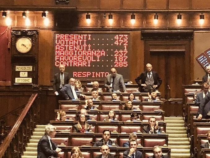Votazione Crosetto