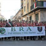 Anche gli alpini di Bra al raduno di Vercelli del primo Raggruppamento