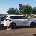 Attiva la prima colonnina pubblica albese per la ricarica di veicoli elettrici