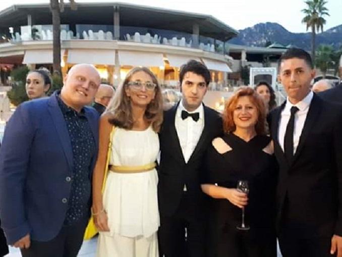 da SX chef Giuseppe Raciti,Federica Eccel, chef Martino Ruggieri, Daniela Di Giovanni, chef MichelangeloMammoliti