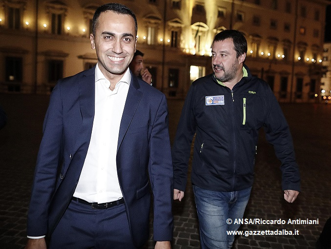 Governo: cena Conte-Di Maio-Salvini in ristorante in centro