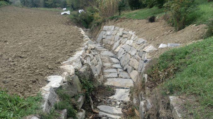Completati gli interventi: ora rio Parussa è sicuro