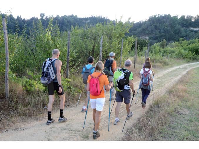 trekking nel Roero