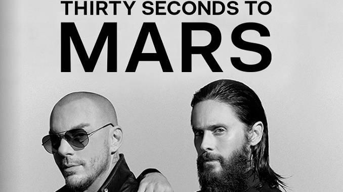 I Thirty Seconds to Mars tornano in Italia: 4 date nel 2019