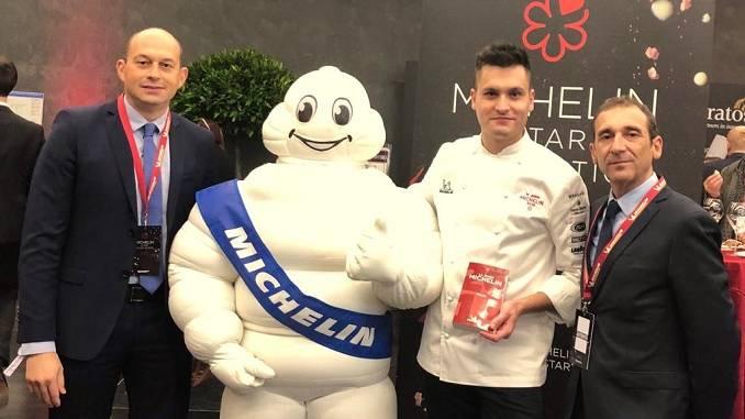 Lo chef albese Gabriele Boffa riceve la stella Michelin