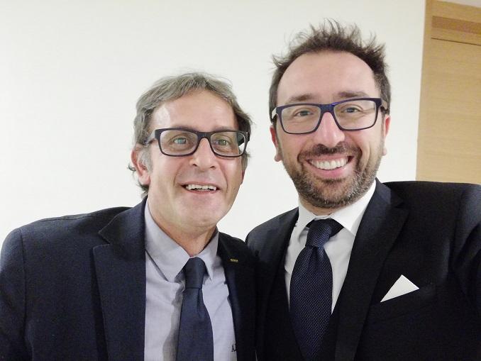 Martinetti con Bonafede