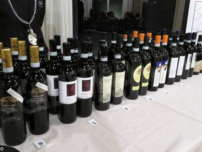 Bottiglie del Castellinaldo nell'edizione 2017