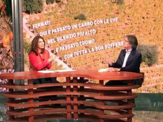 Il sindaco di Castiglione Tinella Bruno Penna ospite di Raitre