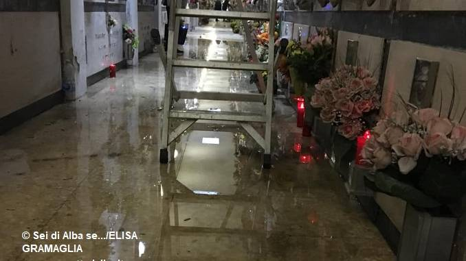 Infiltrazioni al cimitero: nelle prossime settimane saranno appaltati i lavori