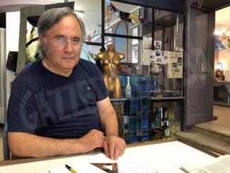 Triplice esposizione di Massimo Berruti, il campione pittore