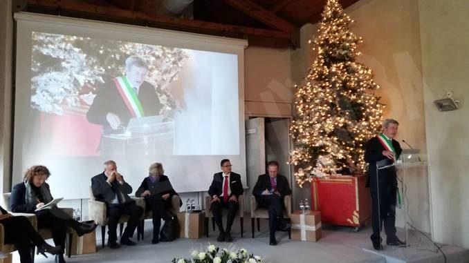 Inaugurato a Govone Il magico paese di Natale