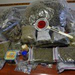 A Villafranca d'Asti sequestrati sette chili di marijuana