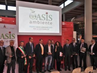 """Assegnati i premi """"Oasis Ambiente 2018"""", premiate Egea e Langalletta"""