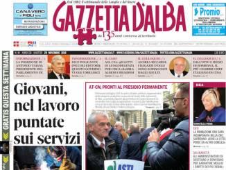 La copertina di Gazzetta in edicola martedì 20 novembre