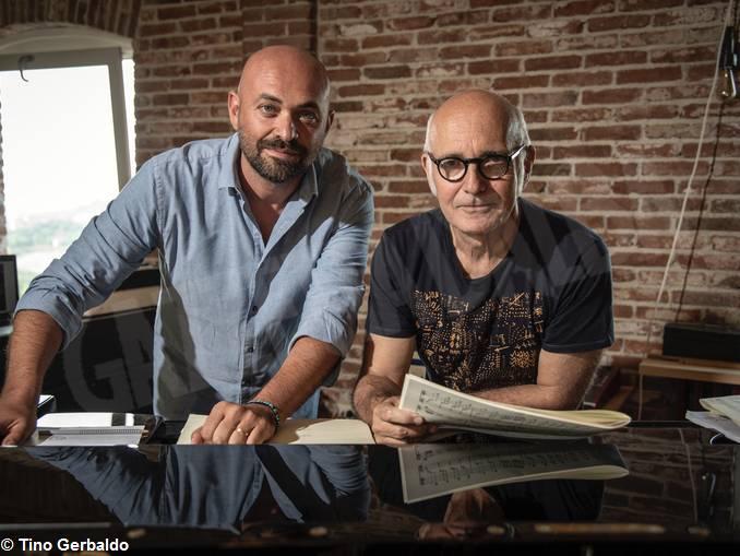 VALERIO BERRUTI E LUDOVICO EIANUDI foto di Tino Gerbaldo