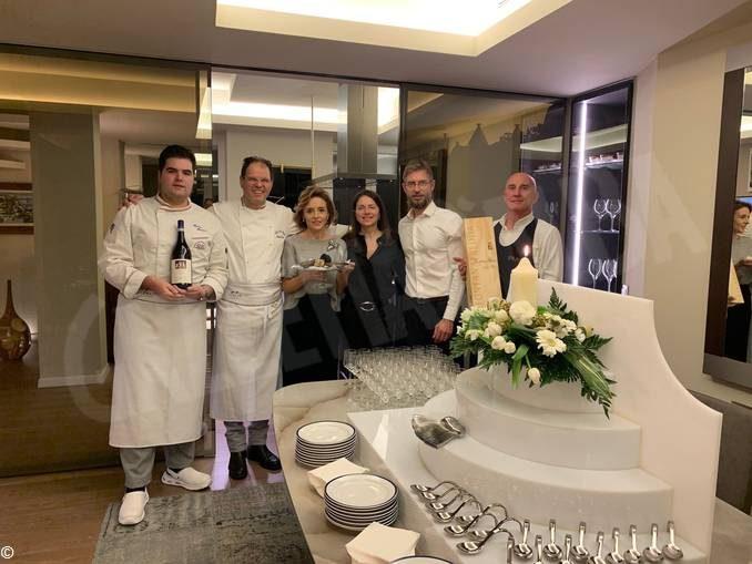 Lo chef cortemiliese Carlo Zarri ha cucinato per alcuni diplomatici